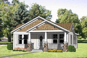 Craftsman Exterior - Front Elevation Plan #116-304