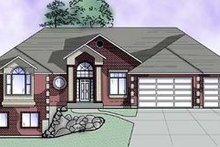 Home Plan - Traditional Exterior - Front Elevation Plan #5-154
