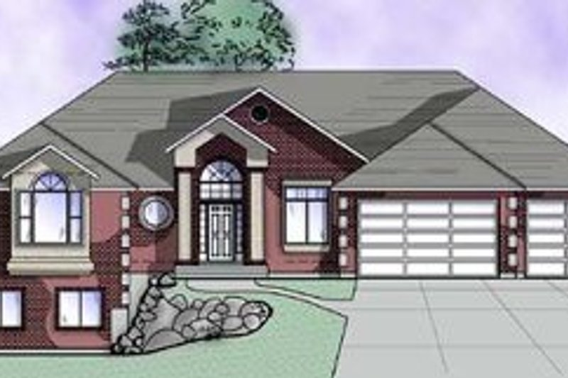 Dream House Plan - Traditional Exterior - Front Elevation Plan #5-154