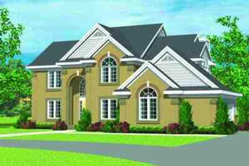 Dream House Plan - European Exterior - Front Elevation Plan #72-228