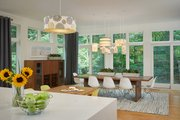 Contemporary Style House Plan - 3 Beds 3.5 Baths 4469 Sq/Ft Plan #928-315 Interior - Dining Room