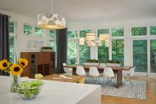 Architectural House Design - Contemporary Interior - Dining Room Plan #928-315