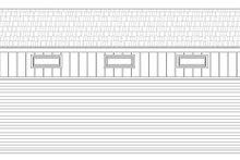 Contemporary Exterior - Rear Elevation Plan #932-229