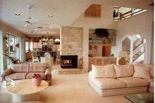 Traditional Interior - Family Room Plan #930-130