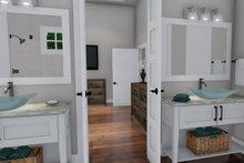 Farmhouse Interior - Master Bathroom Plan #120-255
