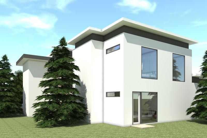 Modern Exterior - Other Elevation Plan #64-228 - Houseplans.com