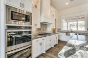 Southern Style House Plan - 4 Beds 3.5 Baths 2765 Sq/Ft Plan #1074-8 Interior - Kitchen