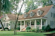 Country Style House Plan - 3 Beds 2 Baths 2151 Sq/Ft Plan #137-188 Exterior - Front Elevation