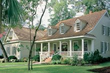 Dream House Plan - country house by North Carolina architect William Poole
