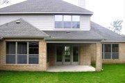 European Style House Plan - 4 Beds 3.5 Baths 3367 Sq/Ft Plan #449-5 Exterior - Rear Elevation