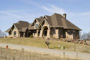 Craftsman Style House Plan - 5 Beds 4 Baths 5077 Sq/Ft Plan #56-592 Exterior - Other Elevation