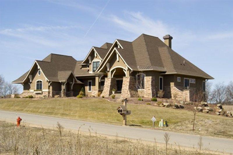Craftsman Exterior - Other Elevation Plan #56-592 - Houseplans.com