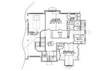 Craftsman Floor Plan - Upper Floor Plan Plan #5-378