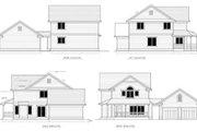 Farmhouse Style House Plan - 3 Beds 2.5 Baths 1759 Sq/Ft Plan #100-469 Exterior - Rear Elevation