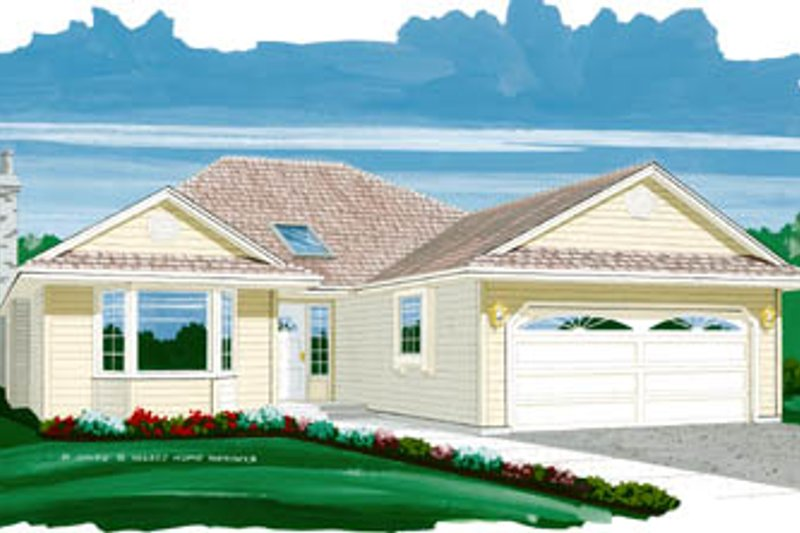 Traditional Style House Plan - 3 Beds 2 Baths 1726 Sq/Ft Plan #47-460