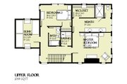 Beach Style House Plan - 3 Beds 2.5 Baths 1997 Sq/Ft Plan #901-121 Floor Plan - Upper Floor Plan