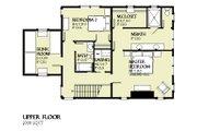 Beach Style House Plan - 3 Beds 2.5 Baths 1997 Sq/Ft Plan #901-121 Floor Plan - Upper Floor Plan
