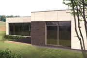 Contemporary Style House Plan - 2 Beds 1 Baths 1870 Sq/Ft Plan #906-11 Photo