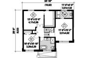 Contemporary Style House Plan - 2 Beds 1 Baths 1501 Sq/Ft Plan #25-4732 Floor Plan - Upper Floor Plan
