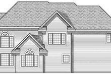 Traditional Exterior - Rear Elevation Plan #70-635