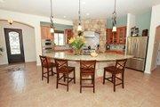 Mediterranean Style House Plan - 3 Beds 3 Baths 2238 Sq/Ft Plan #80-151 Interior - Kitchen