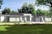 House Plan - 4 Beds 4.5 Baths 4655 Sq/Ft Plan #1-922 Exterior - Front Elevation