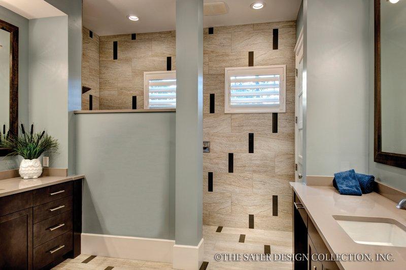 Bungalow Interior - Bathroom Plan #930-19 - Houseplans.com