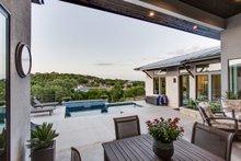 Contemporary Exterior - Outdoor Living Plan #935-14