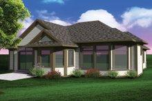 Ranch Exterior - Rear Elevation Plan #70-1071
