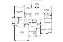 Ranch Floor Plan - Main Floor Plan Plan #1071-2