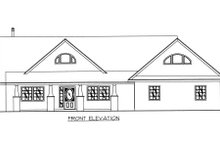 Home Plan - Exterior - Other Elevation Plan #117-564