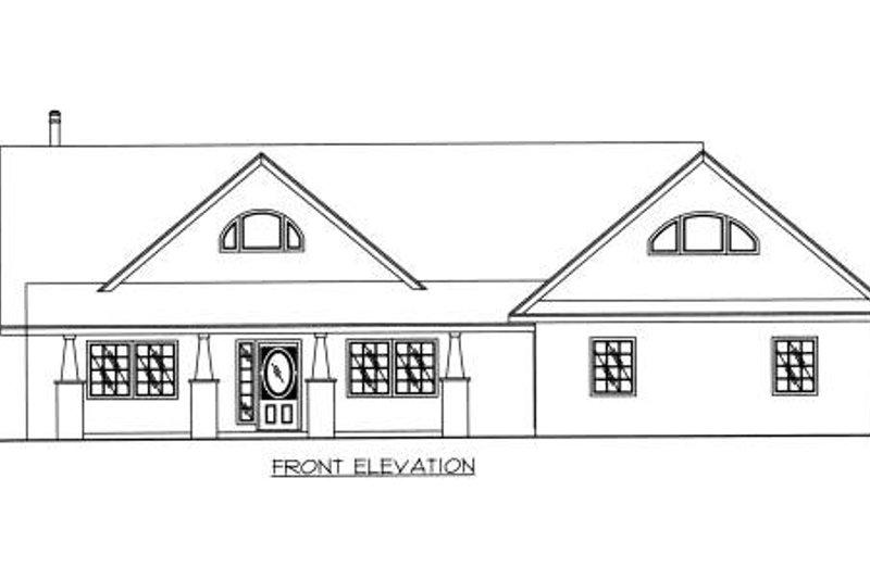 Exterior - Other Elevation Plan #117-564 - Houseplans.com