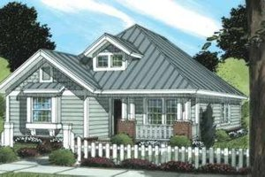 Craftsman Exterior - Front Elevation Plan #20-1887