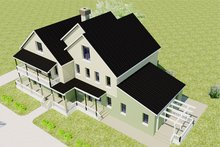 Architectural House Design - Overhead