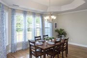 European Style House Plan - 4 Beds 3 Baths 2453 Sq/Ft Plan #929-3 Interior - Dining Room