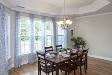 Dream House Plan - European Interior - Dining Room Plan #929-3