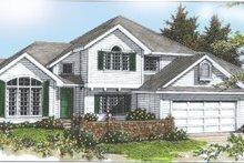 House Design - Traditional Exterior - Front Elevation Plan #97-220
