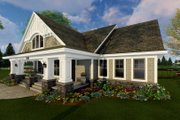 Craftsman Style House Plan - 3 Beds 2 Baths 1866 Sq/Ft Plan #51-514 Exterior - Front Elevation