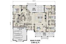 Farmhouse Floor Plan - Main Floor Plan Plan #51-1144