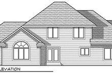 Traditional Exterior - Rear Elevation Plan #70-876