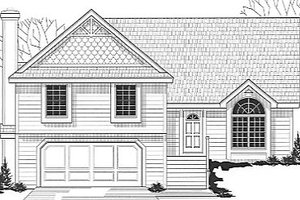 Traditional Exterior - Front Elevation Plan #67-653