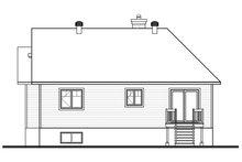 House Design - Craftsman Exterior - Rear Elevation Plan #23-2654