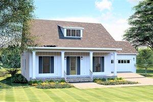 Craftsman Exterior - Front Elevation Plan #44-235