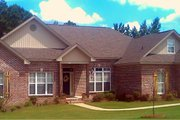 Traditional Style House Plan - 4 Beds 2.5 Baths 2360 Sq/Ft Plan #63-202 Exterior - Front Elevation