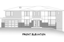 House Plan Design - Contemporary Exterior - Other Elevation Plan #1066-128