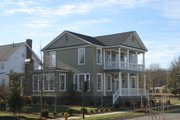 Colonial Style House Plan - 5 Beds 3.5 Baths 2727 Sq/Ft Plan #464-11 Exterior - Front Elevation