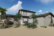 Adobe / Southwestern Style House Plan - 3 Beds 3.5 Baths 3546 Sq/Ft Plan #1069-22 Exterior - Other Elevation