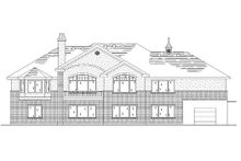 House Plan Design - Traditional Exterior - Rear Elevation Plan #5-275