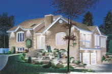 Modern Exterior - Front Elevation Plan #23-151