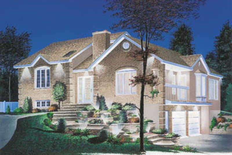 Dream House Plan - Modern Exterior - Front Elevation Plan #23-151